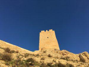 Cara sur de la torre