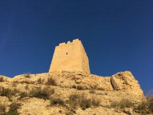 La vista del castillo cambia según la hora del día